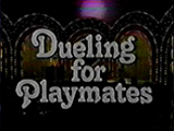 Dueling For Playmates Logo