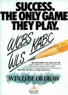Win Lose or Draw Success ad