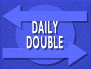 Jeopardy! Season 7 Daily Double blue title card
