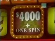 $4000+One Spin Reddish