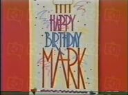 Happy Birthday Mark Ending