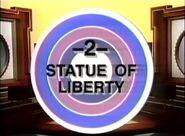 Bullseye statue of liberty