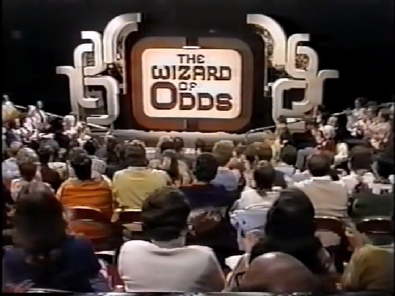 The Wizard Of Odds Book