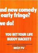 You Bet Your Life Hackett ad 2