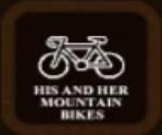 His & Her Mountain Bikes
