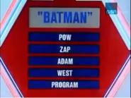 Batman Puzzle
