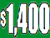 $1400