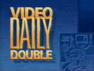 Jeopardy! 1989 Video Daily Double intertitle
