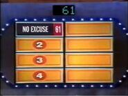 Survey Says No Excuse