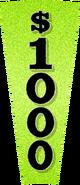 1000 wedge