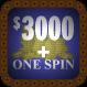 $3000 + One Spin Dark Blue