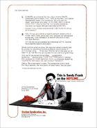 NTT Sandy Frank Hotline