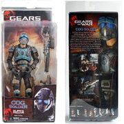 COG Soldier (Action Figure) Series Three in box (Front and back).