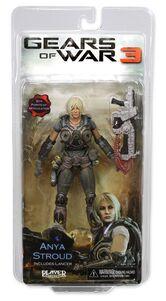 Gears Of War 3 Anya Stroud action figure