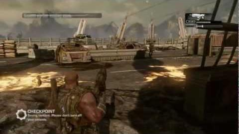 How to kill a GUNKER ! quick on gears of war 3