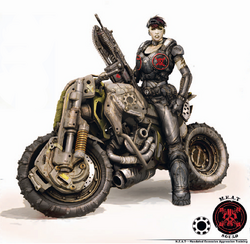 Alex Gears of War 3 Concept