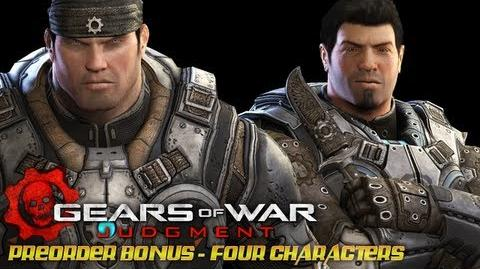 Gears of War Judgment - Preorder Bonus Young Marcus and Dom, Anya and Alex Brand