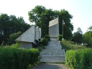 Monument in Treznea, Salaj County-1