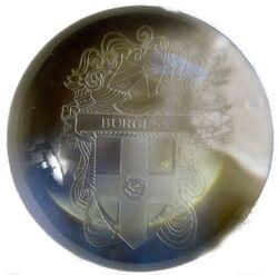 Burgess Paperweight Shield