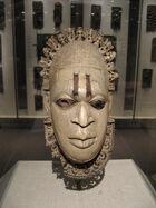 Edo ivory mask 18472