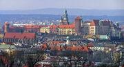 Kraków - Wawel from Kopiec Krakusa