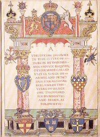Heraldic Visitation