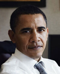 Barry in office by Leibovitz