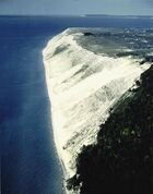 Sleeping Bear Dune Aerial View