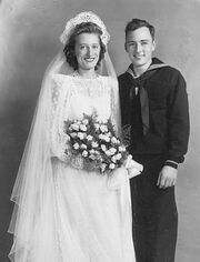 Thomas Patrick Norton (1920-2011) and Selma Louise Freudenberg (1921-2009) marriage on October 03, 1942 in Jersey City, New Jersey