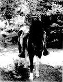 Waite on horse