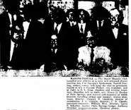 Anton Julius Winblad II (1886-1975) as a Masonic sergeant-at-arms as reported in the Desert Hot Springs Sentinel of Desert Hot Springs, California on January 16, 1969
