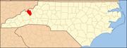 North Carolina Map Highlighting Yancey County.PNG