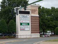 Patrick Henry Mall sign, Hampton Roads, Virginia