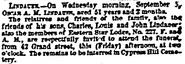 Lindauer-OscarArthurMotitz 1866 funeral NewYorkHerald