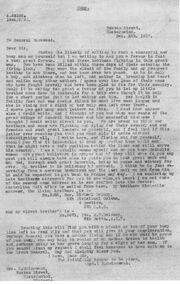 Anastasia delaney letter