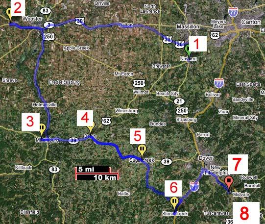 Ohio- Tuscarawas County- Messerli immigrants