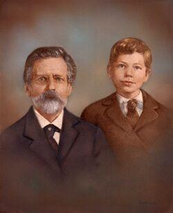 Poe&Arthur Ostrander 1907.jpg