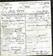 Pawel Szczesny Death Certificate