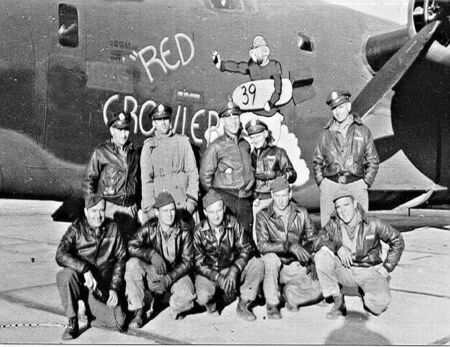WWII-838th Squadron- Red Growler- B-24HJ