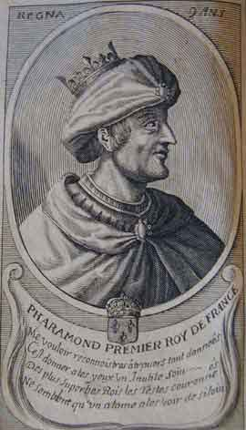 Pharamond, King of the Franks (370-427)