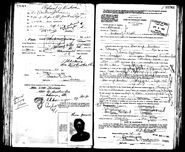 Olsen-Lena 1922 passport 03 pic