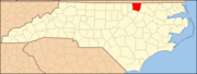 North Carolina Map Highlighting Warren County.PNG