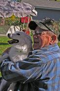 Carl Conrad with Foxy