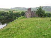 Morton Castle - Landscape
