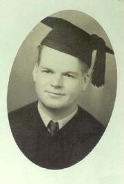 Leroy Van Cott (1913-2003)graduation