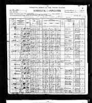 1900 census Paterson Betts
