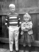 Robert Visser & Carol Zipp in 1966