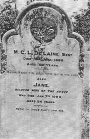 Delaine gravestone