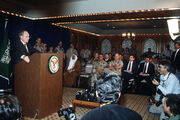 Cheney Gulf War news conference