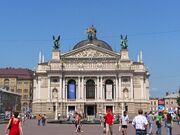 Lwów - Opera